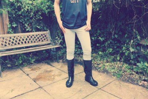 Bohoo.com menswear festival fashion giveaway blue acid wash skinny jeans