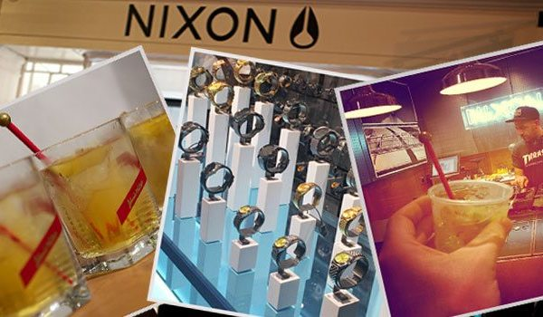 Launch | Nixon's First UK Store