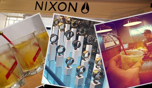 Launch | Nixon's First UK Store