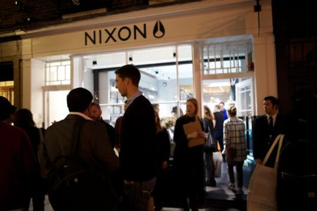 TUG-Nixon-Launch-2014-UK-Newburgh-Quarter-Carnaby-London-Store-Front