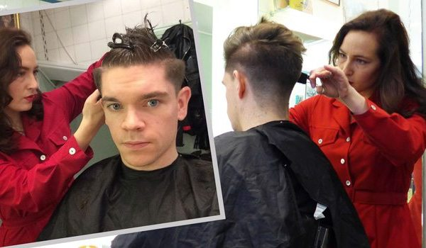 Men's Haircut | Disconnected Undercut