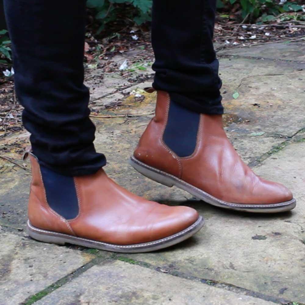 Tan-Topman-Chelsea-Boots