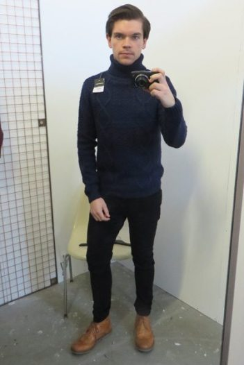 Topman-Personal-Shopping_Off-The-Rails-2014_Robin-James_The-Utter-Gutter_Cable-Knit-Rollneck-Jumper