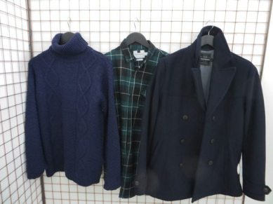 Topman-Personal-Shopping_Off-The-Rails-2014_Robin-James_The-Utter-Gutter_Roll-Neck_Peac-coat_Checked-shirt