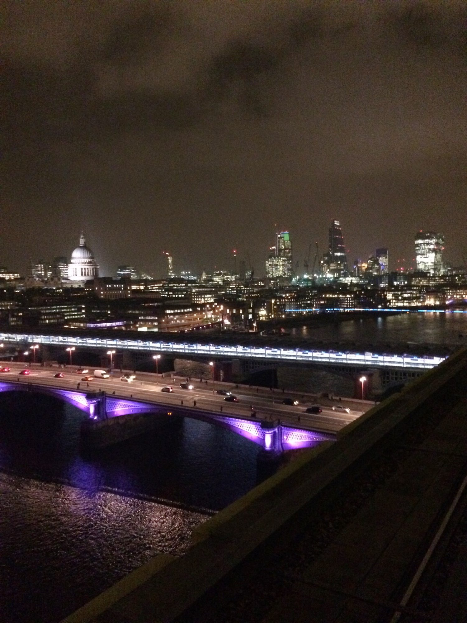 The view from the Rumpus Room in the Mondrian