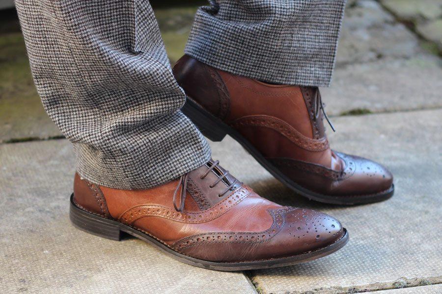 Wedding-Formal-Wear-Robin-James-The-Utter-Gutter-Brown-Leather-Brogues