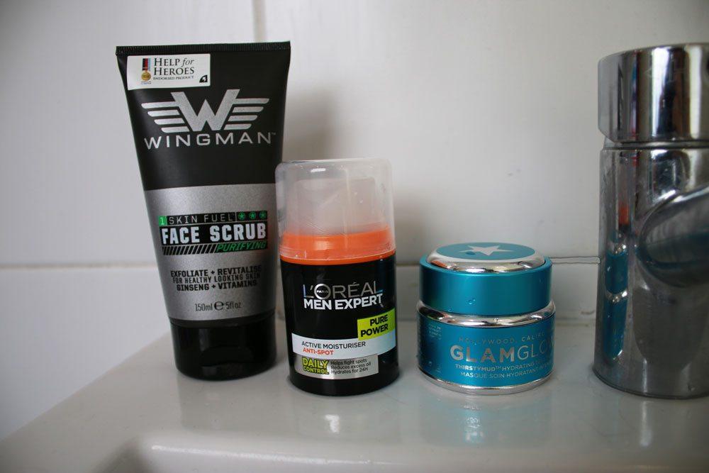 Skincare-Routine-Robin-James-The-Utter-Gutter-Morning