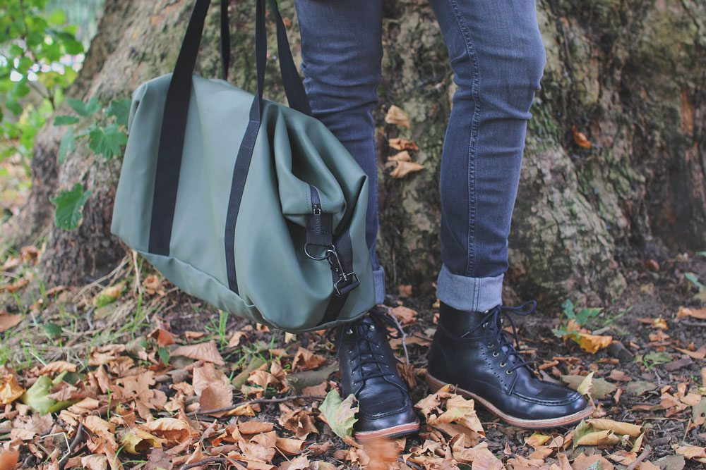Frank-Wright-Angel-Leather-Boots-Rains-Green-Holdall