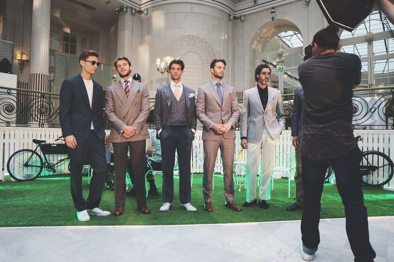 Chester Barrie | Label M | Hair and Grooming | LCM SS17