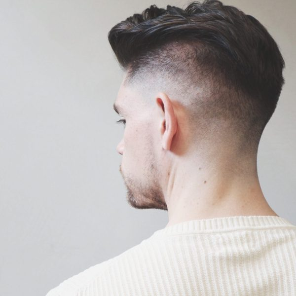 Skin Fade With Side Pomp | Summer Haircut and Style