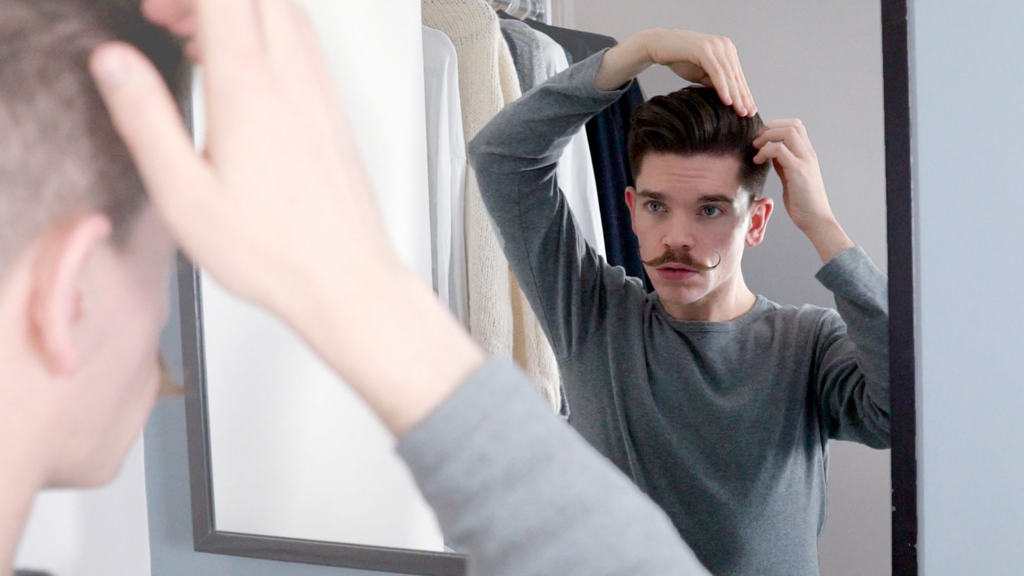 Your Hair Parting Which Way To Style Explained Man For Himself