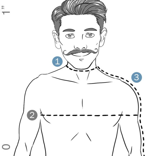 Men's Size Guide | How To Measure Your Body