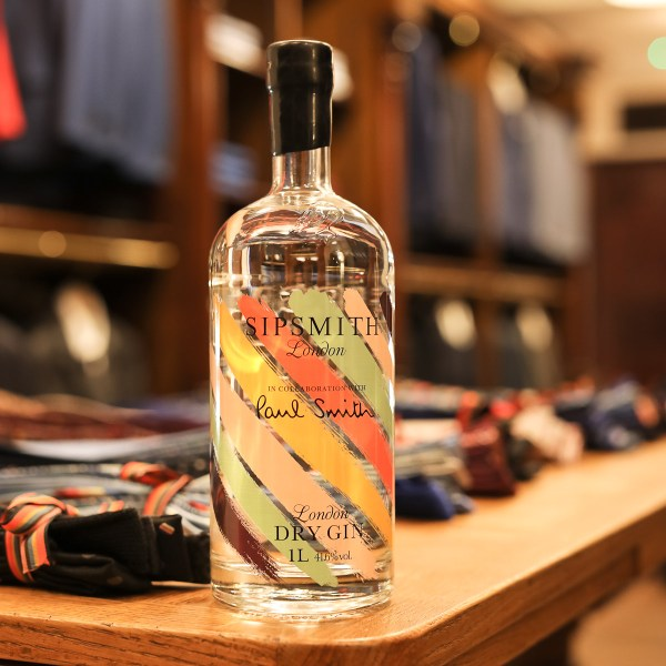 Sipsmith x Paul Smith Collaboration