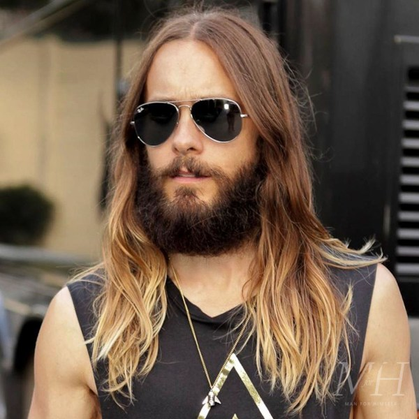Jared Leto: Long And Textured