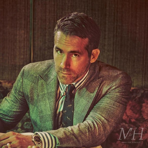 Ryan Reynolds: Formal Medium Length Hairstyle