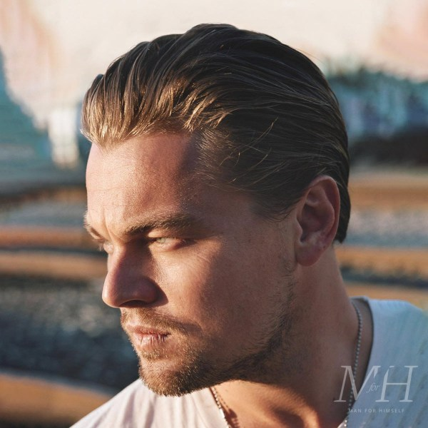 Leonardo DiCaprio: Slicked Back Hairstyle