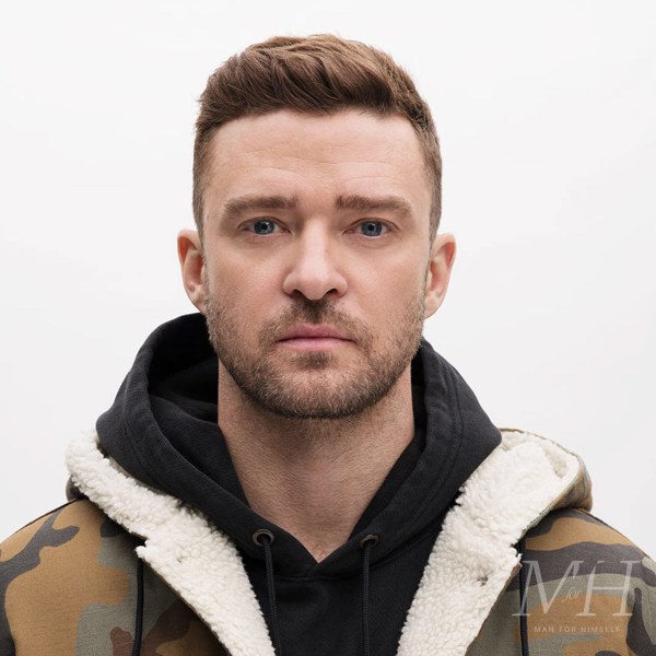 Justin Timberlake: Short Hairstyle With Quiff