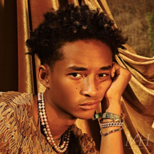 Jaden Smith: Twist Out Medium Length Afro Hairstyle