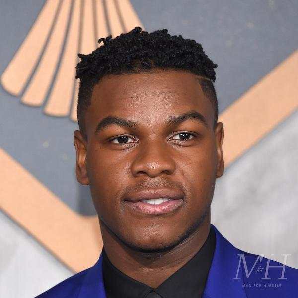 John Boyega: Tight Twists And Fade Afro Hairstyle