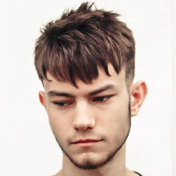 Textured Short Back And Sides With Fringe