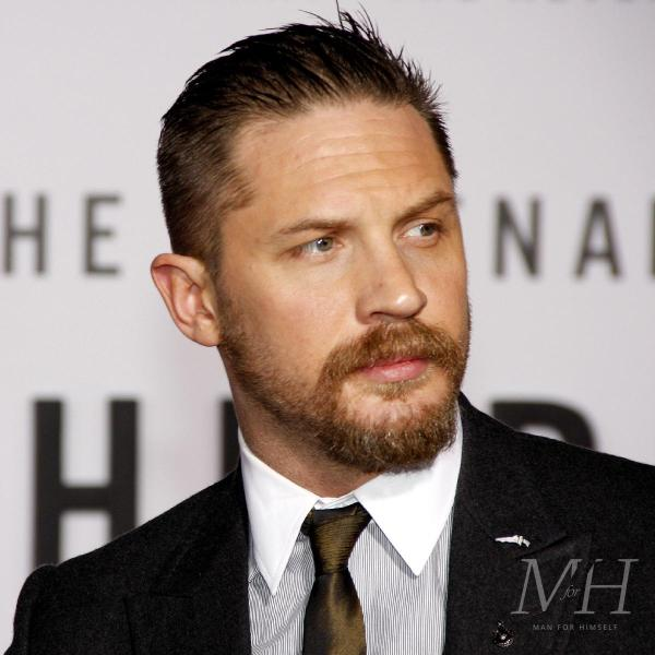 Tom Hardy: Short Sides And Long On Top Hairstyle
