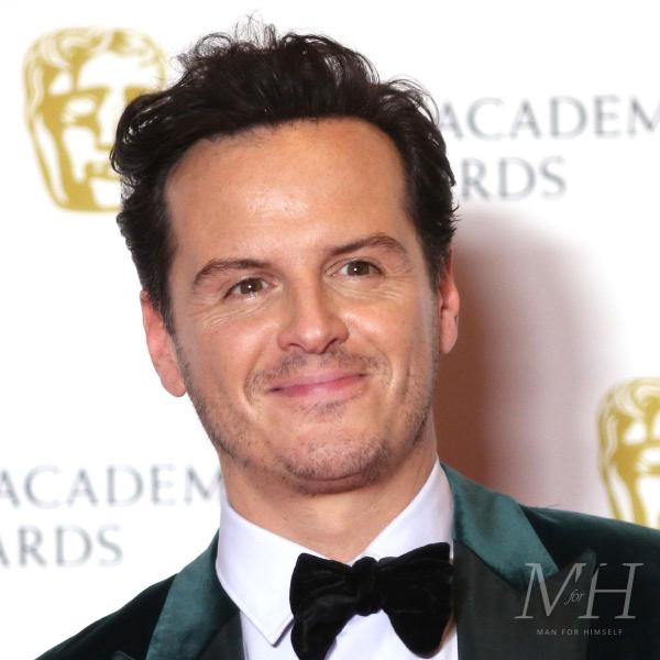 Andrew Scott: Short Back And Sides With Quiff Hairstyle