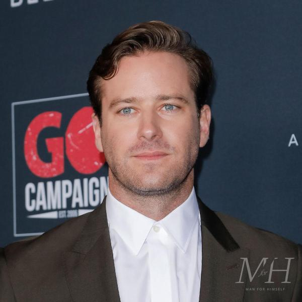 Armie Hammer: Swept Back Short Wavy Hairstyle