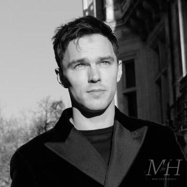 Nicholas Hoult: Square Shaped Tapered Hairstyle