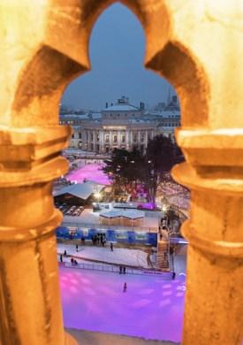 Burgtheater v Rathaus Jän 17-2-2