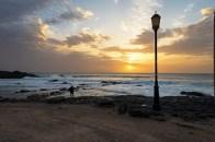 Meer und Sonnenuntergang El CotilloDez 16-4-2