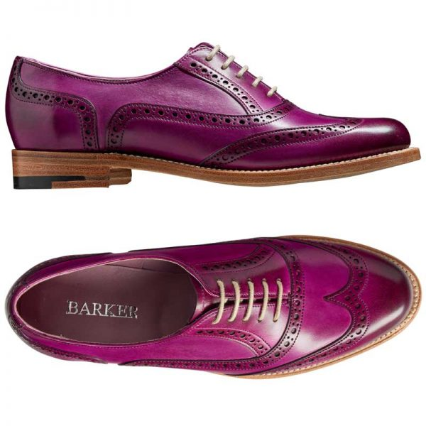 barker fearne purple handpainted view