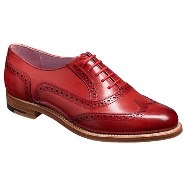 Fearne Red 1 Leather Shoes