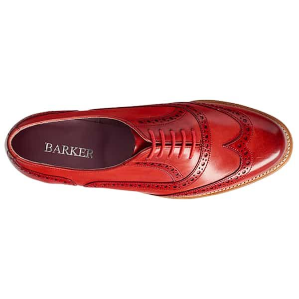 Fearne Red 2 Leather Shoes