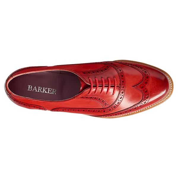 Fearne Red 3 Leather Shoes