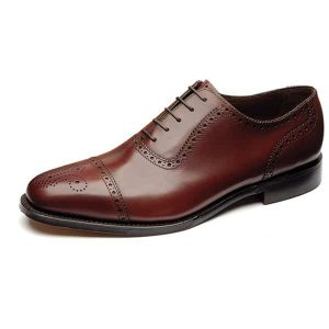 Strand Burgundy Leather Shoes