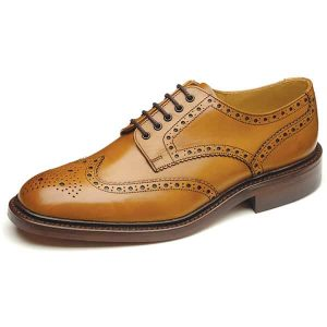 Chester Tan Leather Shoes