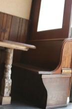 Gordon Bennet Bar Williamsburg seating in style
