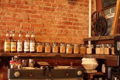 Old school Brooklyn cafe