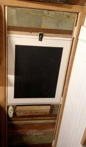 Created Murphy door for existing frame