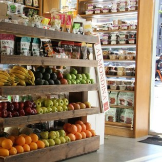 Organic Planet whole foods market Williamsburg Brooklyn designed by Man From The Woods