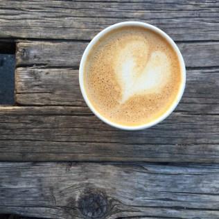 Swallow Cafe Bushwick rough bark table