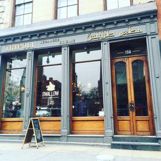 Swallow Cafe Tripoli facade