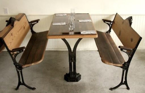 East Wick restaurant interior design