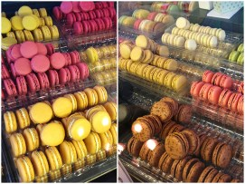 Macarons in Laduree Bakery