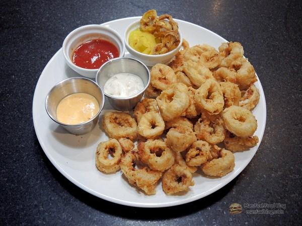 Restaurant Style Fried Calamari Recipe with Light Breading