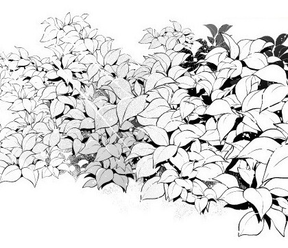Just Add A Little Trick How To Draw Leaves Pile With Falling Leaves Material Manga Materials