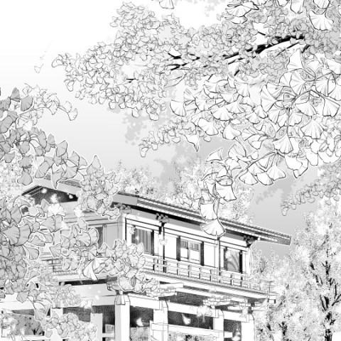 イチョウ枝葉サムネ