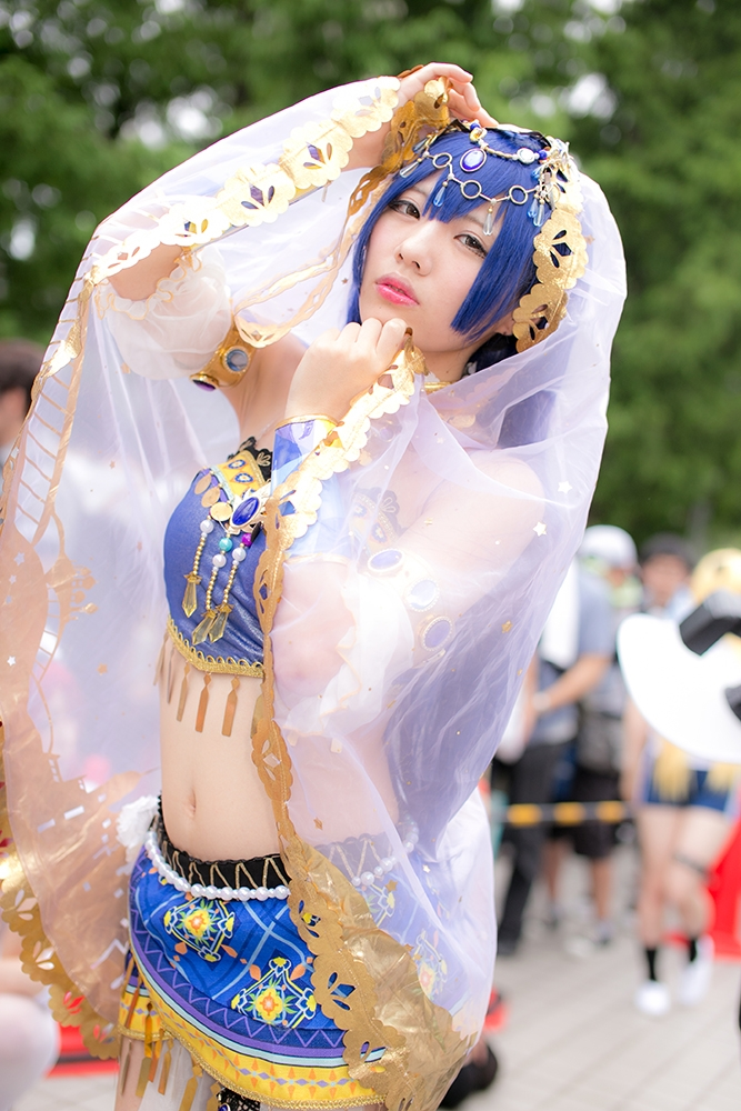 Comiket 92 Love Live! Cosplay Collection | Umi Sonoda (Dancer arc awakening) cosplay