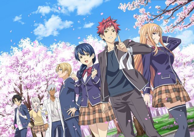 Image result for Food Wars! Shokugeki no Soma: The Fifth Plate