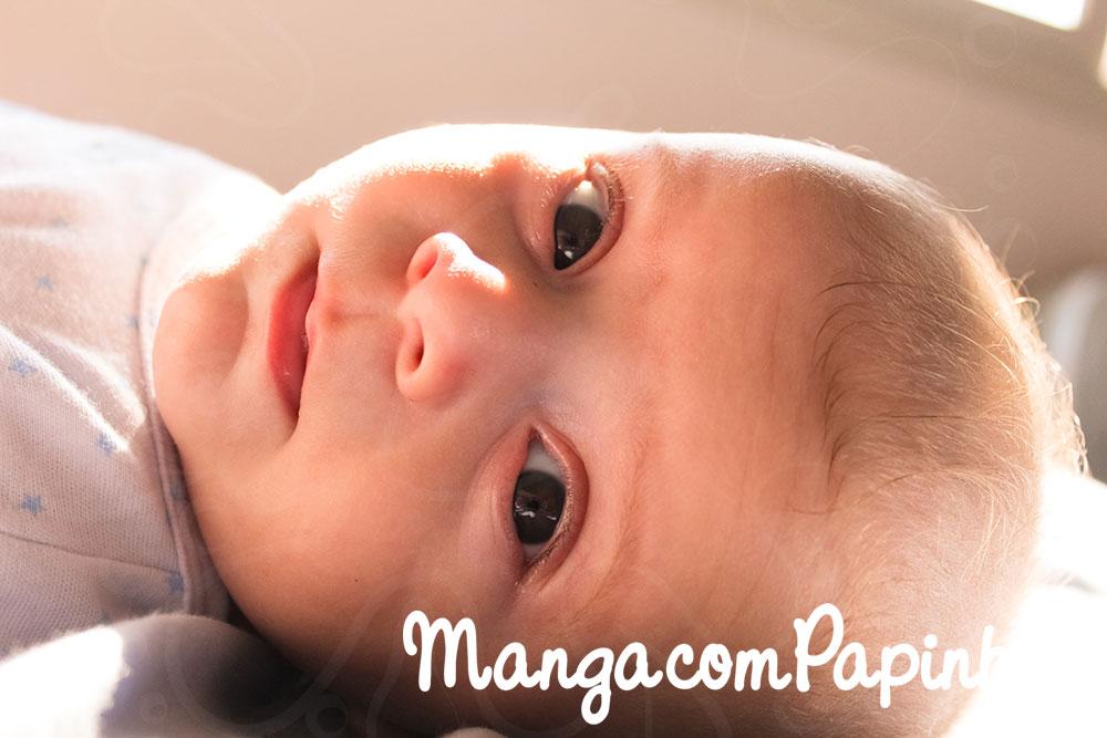 Os três primeiros meses de vida do bebê Otto
